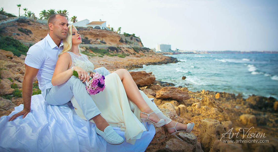 Wedding in Spain, Torrevieja. Professional photographer.