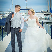 Wedding photographer in Torrevieja. Wedding Angelina and Youri