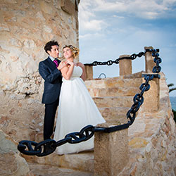 Wedding photographer in Torrevieja. Zoser and Estefania wedding