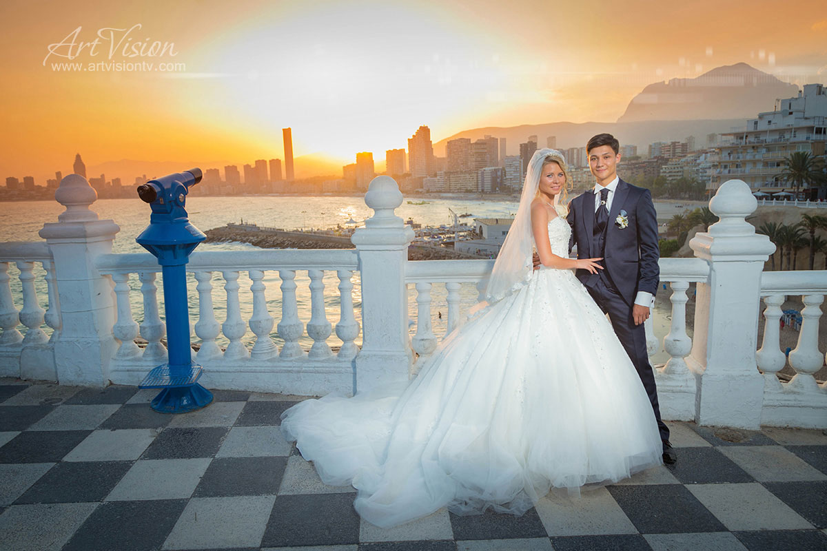 wedding photographer in benidorm and altea